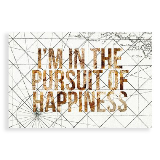 Image of Pursuit of Happiness Canvas Print